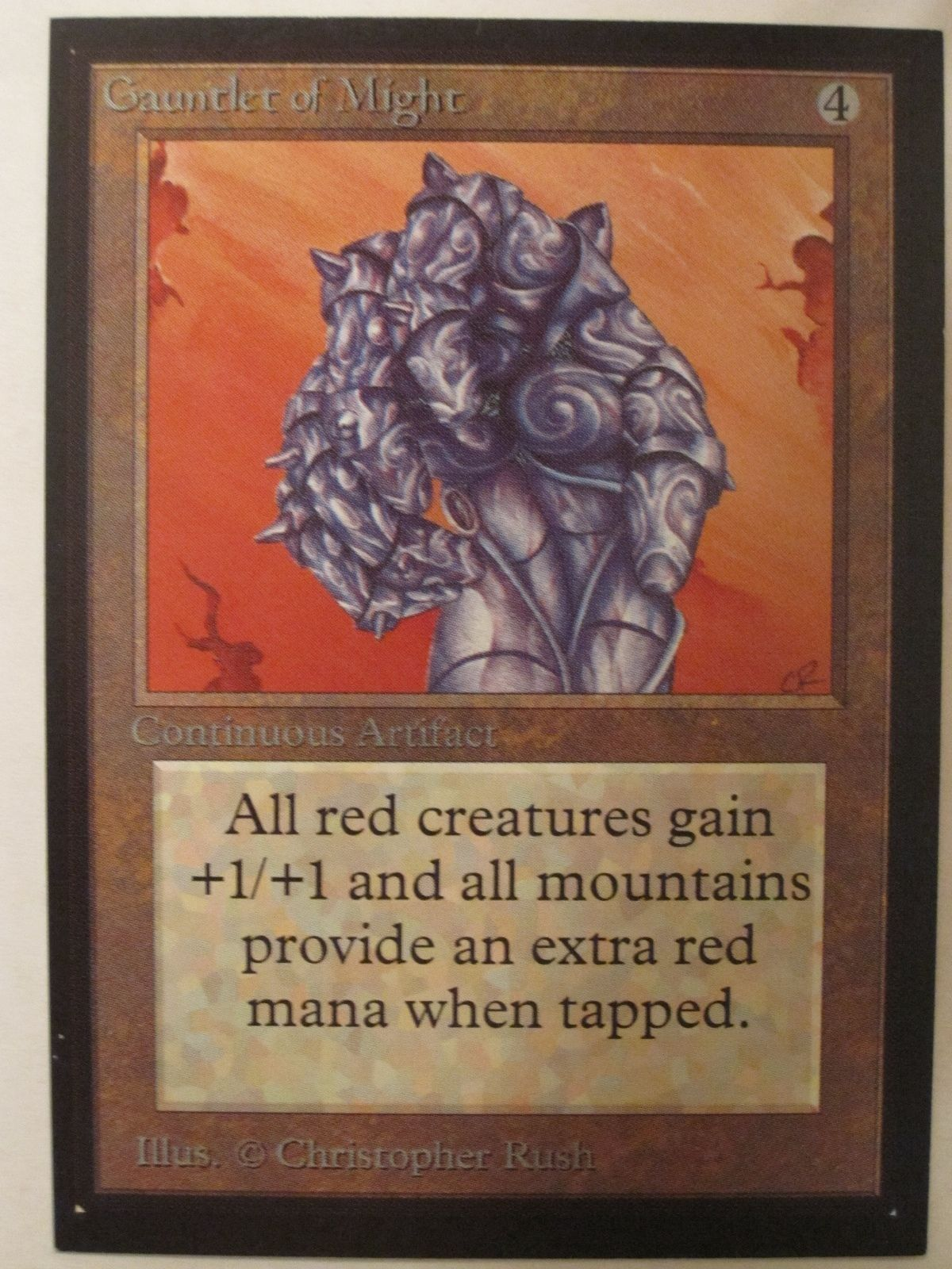 Gauntlet of might collectors edition magic the gathering