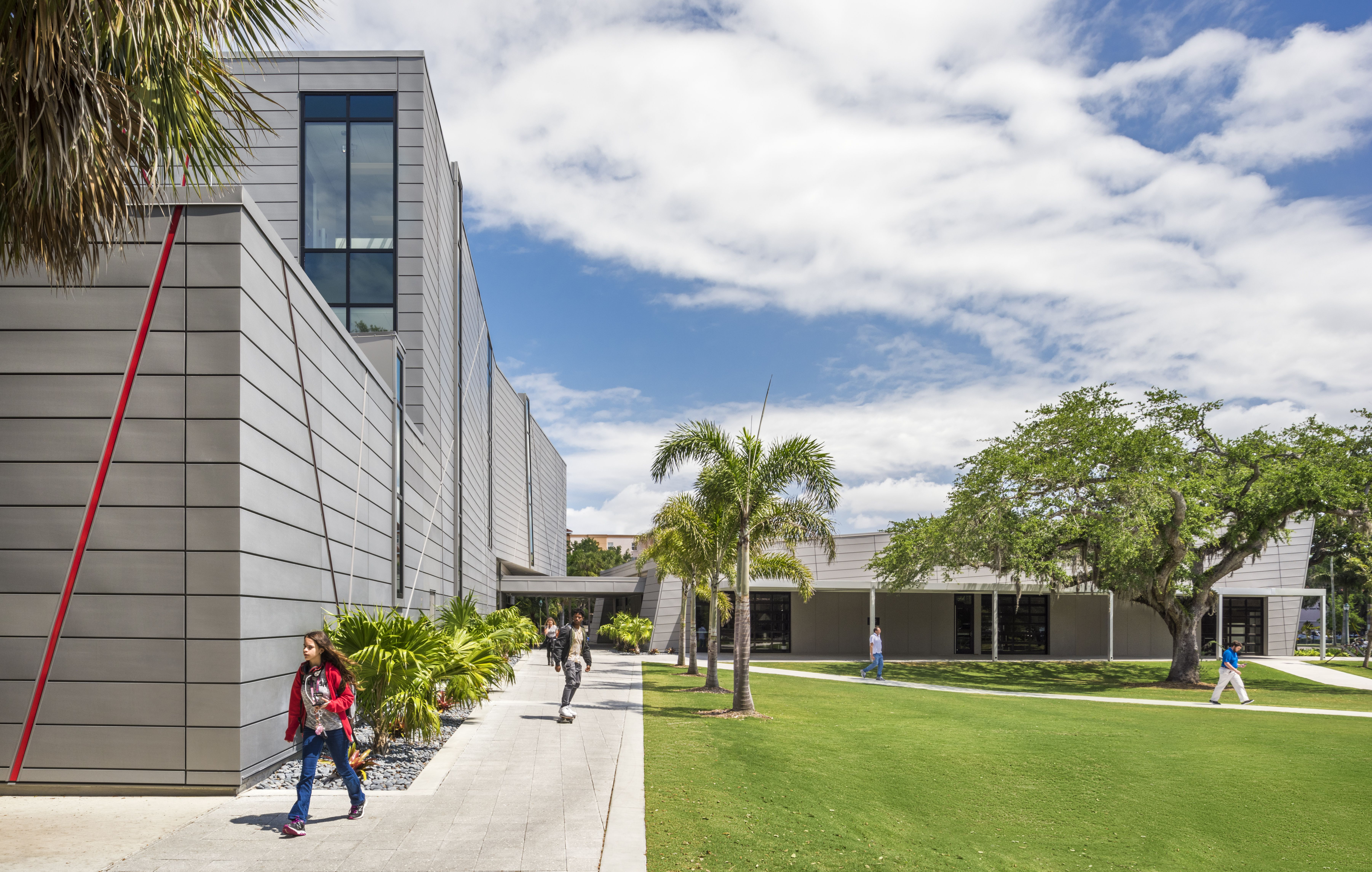 The Project is a 38,500 SF visual arts center for Ringling ...