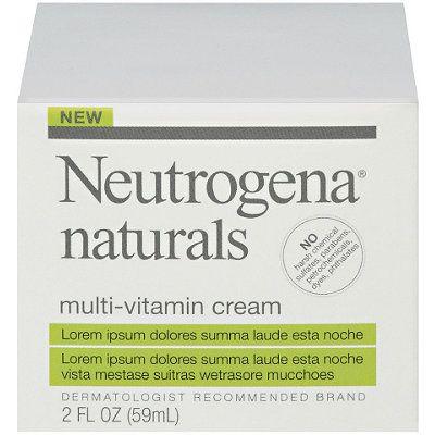 Neutrogena Naturals Multi Vitamin Cream Anti Aging Night Cream Homemade Eye Cream Best Night Cream