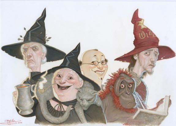 Une brochette de personnages