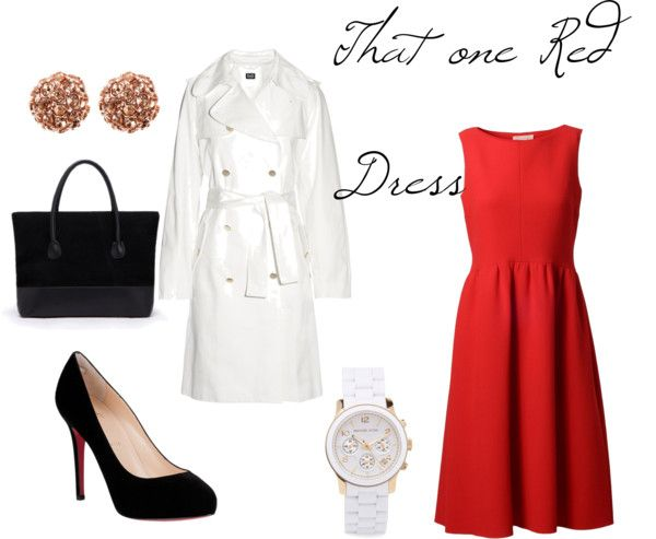 """That one Red Dress"" by kandiwell on Polyvore"