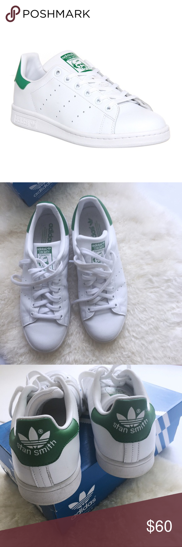 Adidas Stan Smith Verde y blanco Classics Pinterest Stan Smith