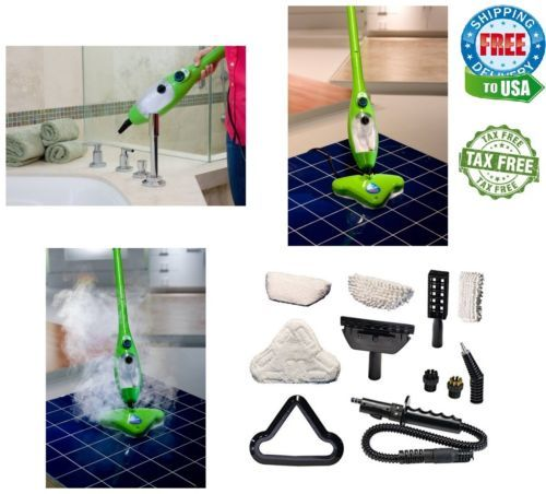 H2o X5 Steam Mop Hard Dirt Floor Carpet Cleaner Hand Held Home Machine New 5 In1 Organic Cleaning Products Carpet Cleaners Steam Mop