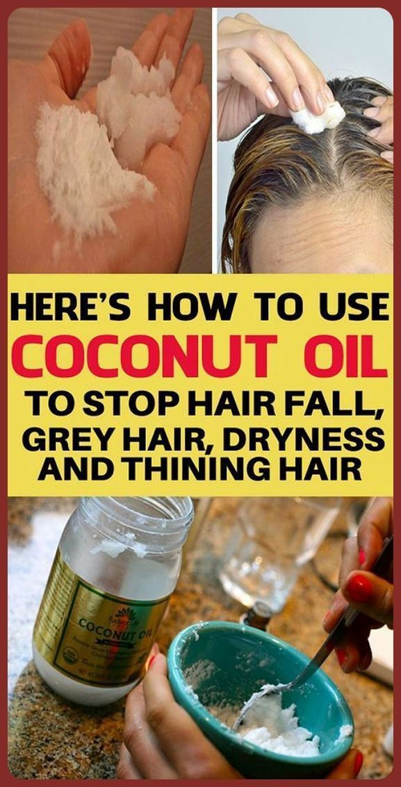 Heres How To Use Coconut Oil To Stop Your Hair From ...