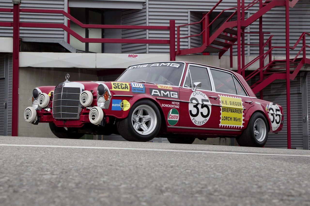 automotive-lust:  Mercedes racing heritage appreciation post: S63 and 300 SEL AMG