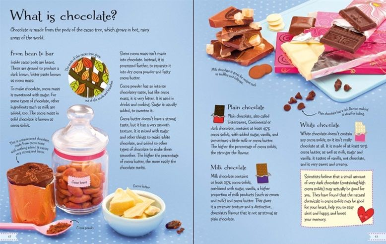 What is chocolate the childrens chocolate cookbook from usborne the childrens chocolate cookbook from usborne http forumfinder Images