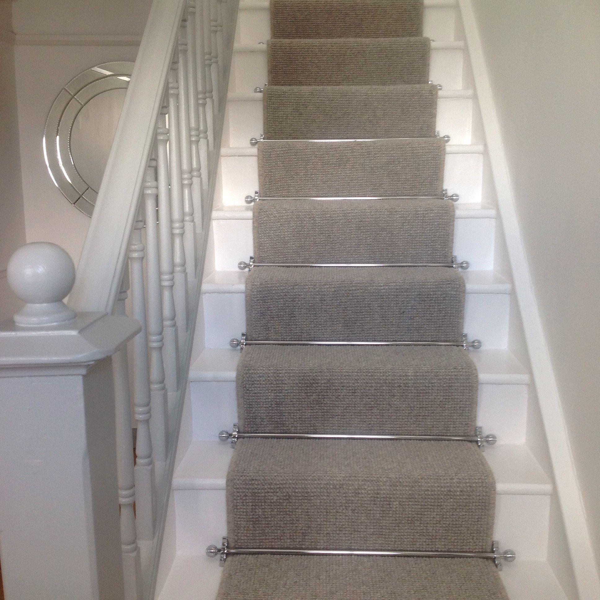 Stair Carpet Runner Stairs Stairs Painted Ideas Tags Carpet | Gray Carpet Stair Treads | Black | Set | Wood | Grey Patterned | Fitting Loop Pile Carpet
