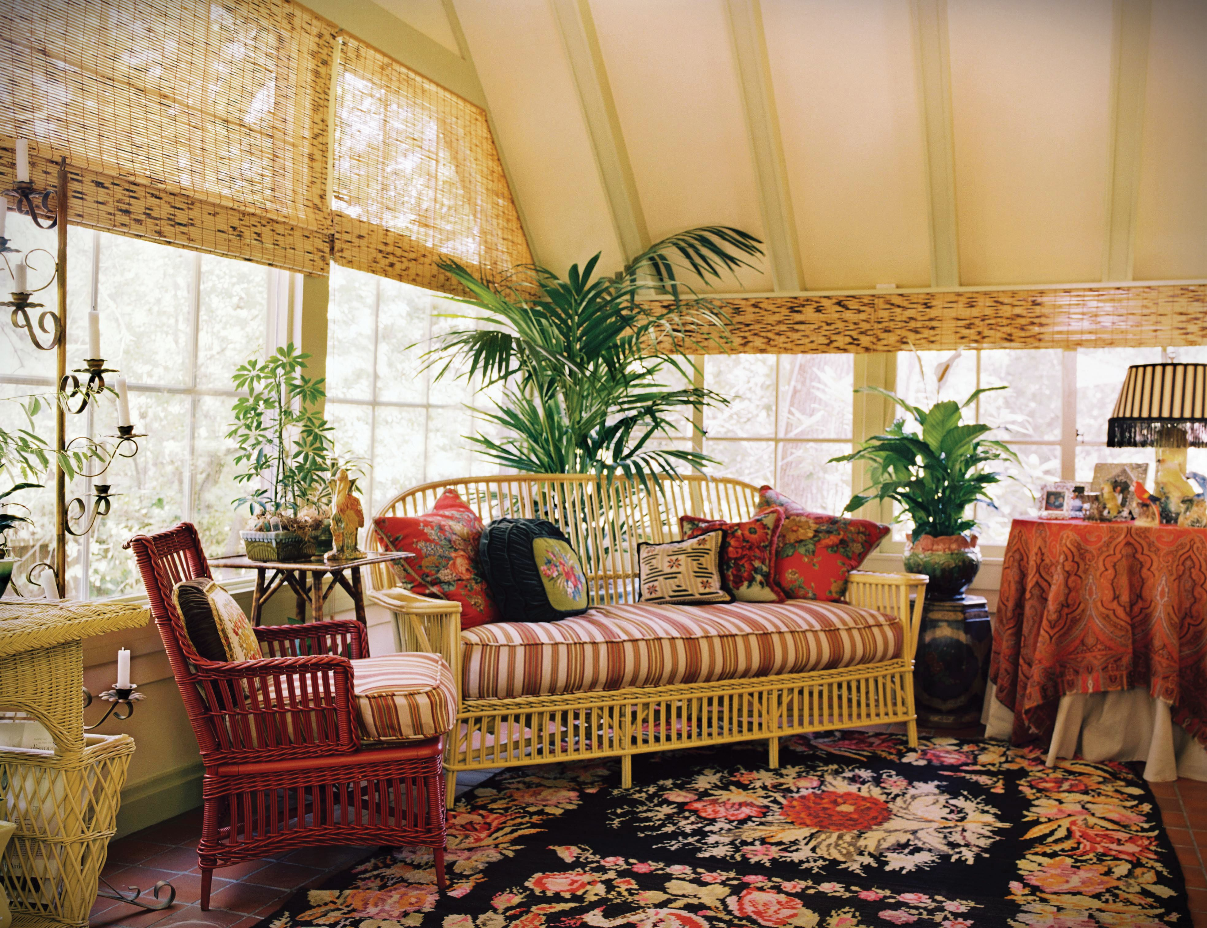 Plants For Sunrooms | Traditional Mix In A Sunroom With A Palm Tree And  Peace Lily · Traditional PorchTraditional DesignSunroom IdeasSunroom ... Part 38