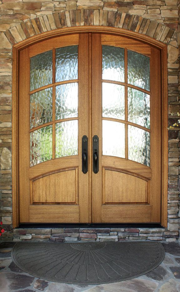 Aberdeen Tdl 6lt Double Door W Flemish Glass