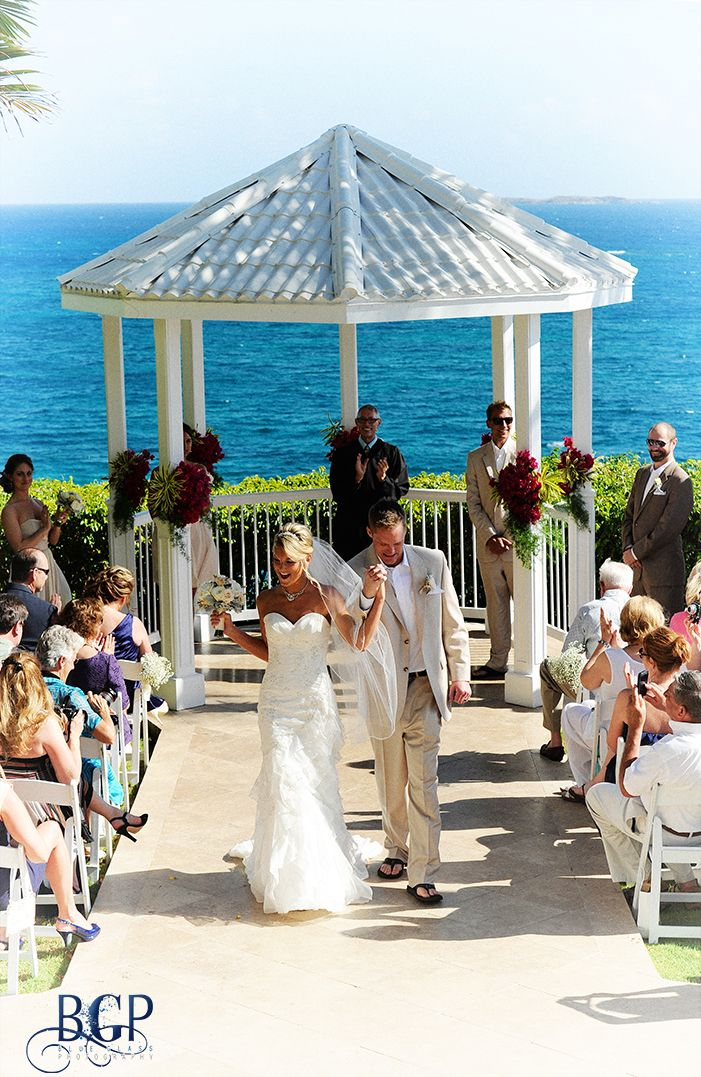 Beautiful Wedding At The Marriott Frenchman S Reef On St Thomas Us Virgin Islands