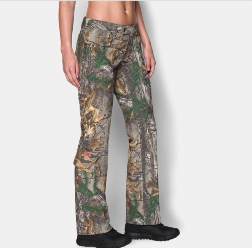 fe7b4b24a07c3 Under Armour Scent Control Field Women's Hunting Pants in Realtree Camo:  These stylish, functional