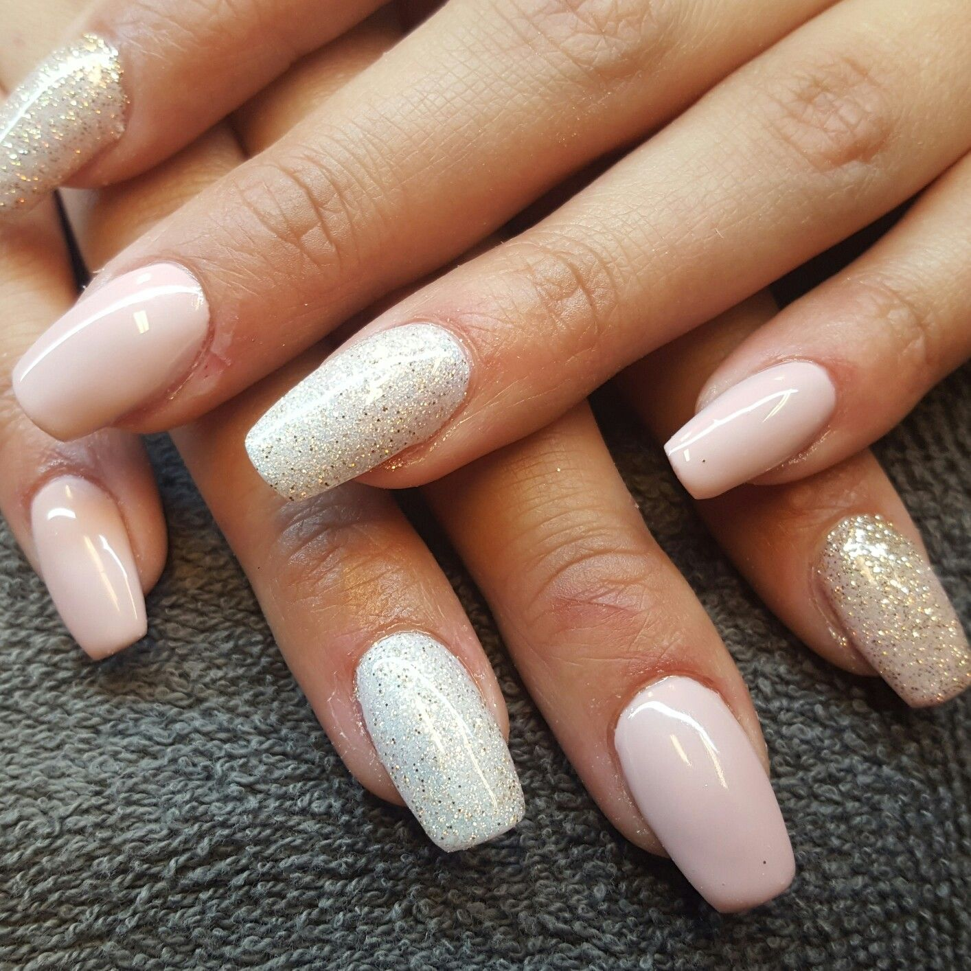 Acryl nagels, naildesign, nailart. Love this color by Hannas ...