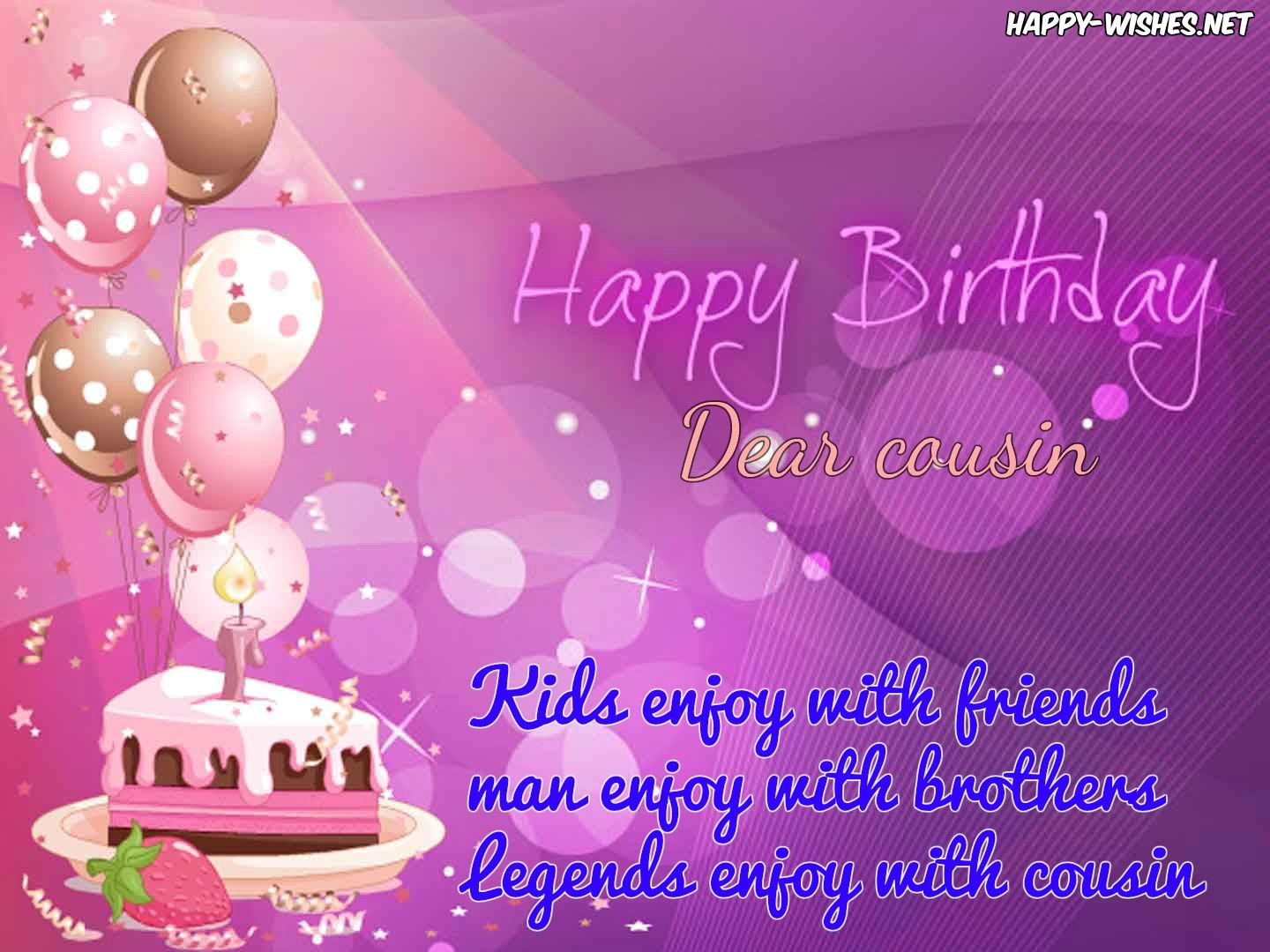 Happy birthday quotes for cousin birthday cards pinterest foxy birthday wishes for helpful sister ideas masculine gujarati and departed warning invalid argument supplied for foreach in kristyandbryce Image collections