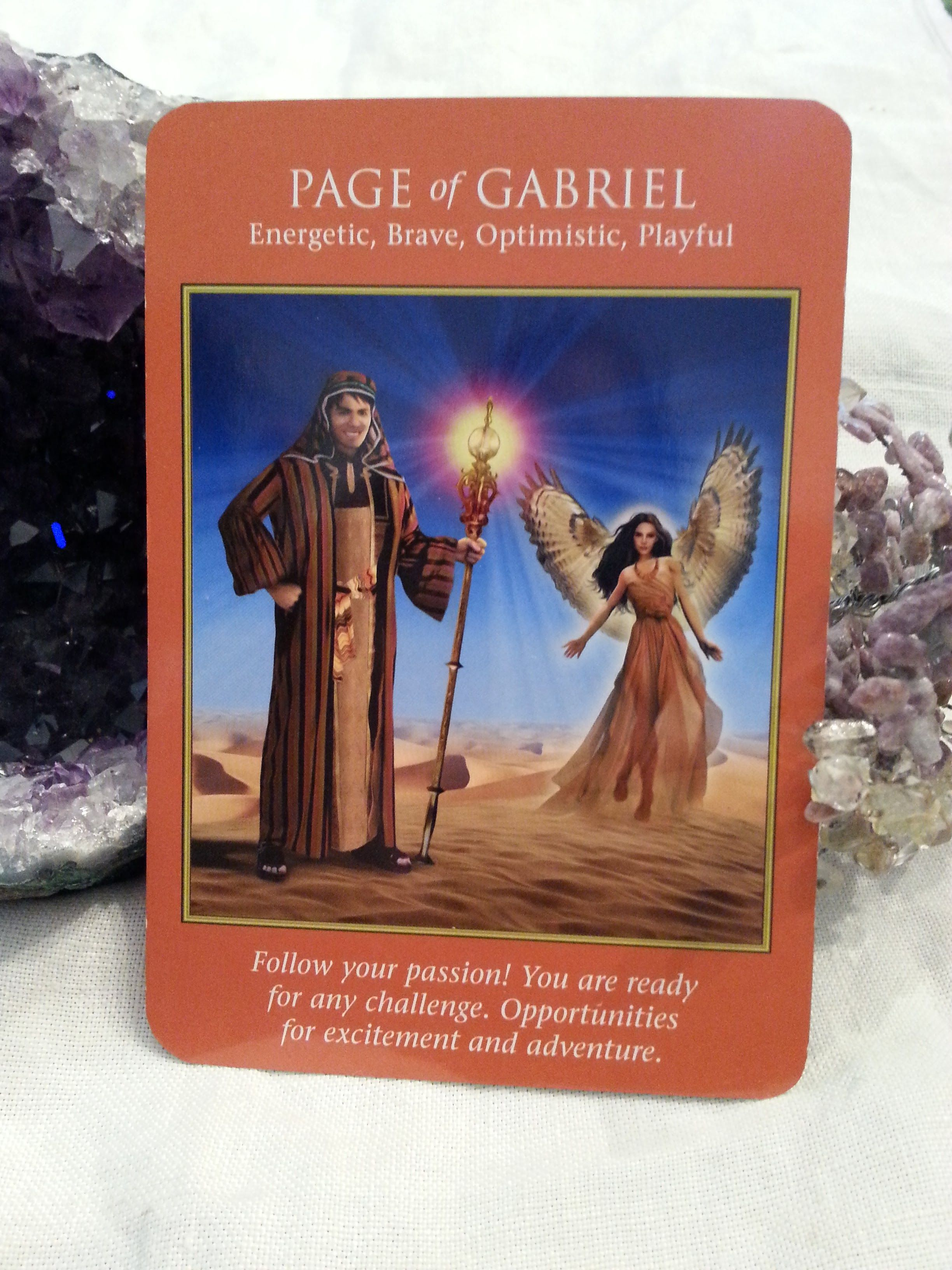 16 Dec – Today you may feel like dancing. Go for it! The AA Gabriel loves to dance! This raises your vibrations and helps you see that yes, you CAN do anything you set your heart on. Follow your bliss & make magic happen!  (Archangel Power Tarot, D. Virtue & R. Valentine) #dailycard #dailytarot #dailymessages #dailyguidance #dailyoracle #tarot #tarotcommunity #spirituality #metaphysical #divination #angelreading #angels #archangels #archangelpowertarot