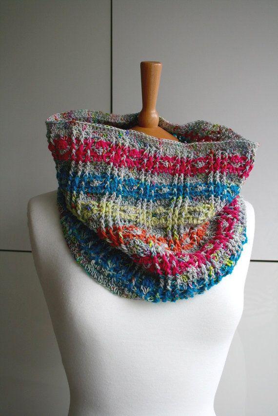 Crochet Pattern Crochet Scarf Pattern Women Men Fall Pattern Cowl