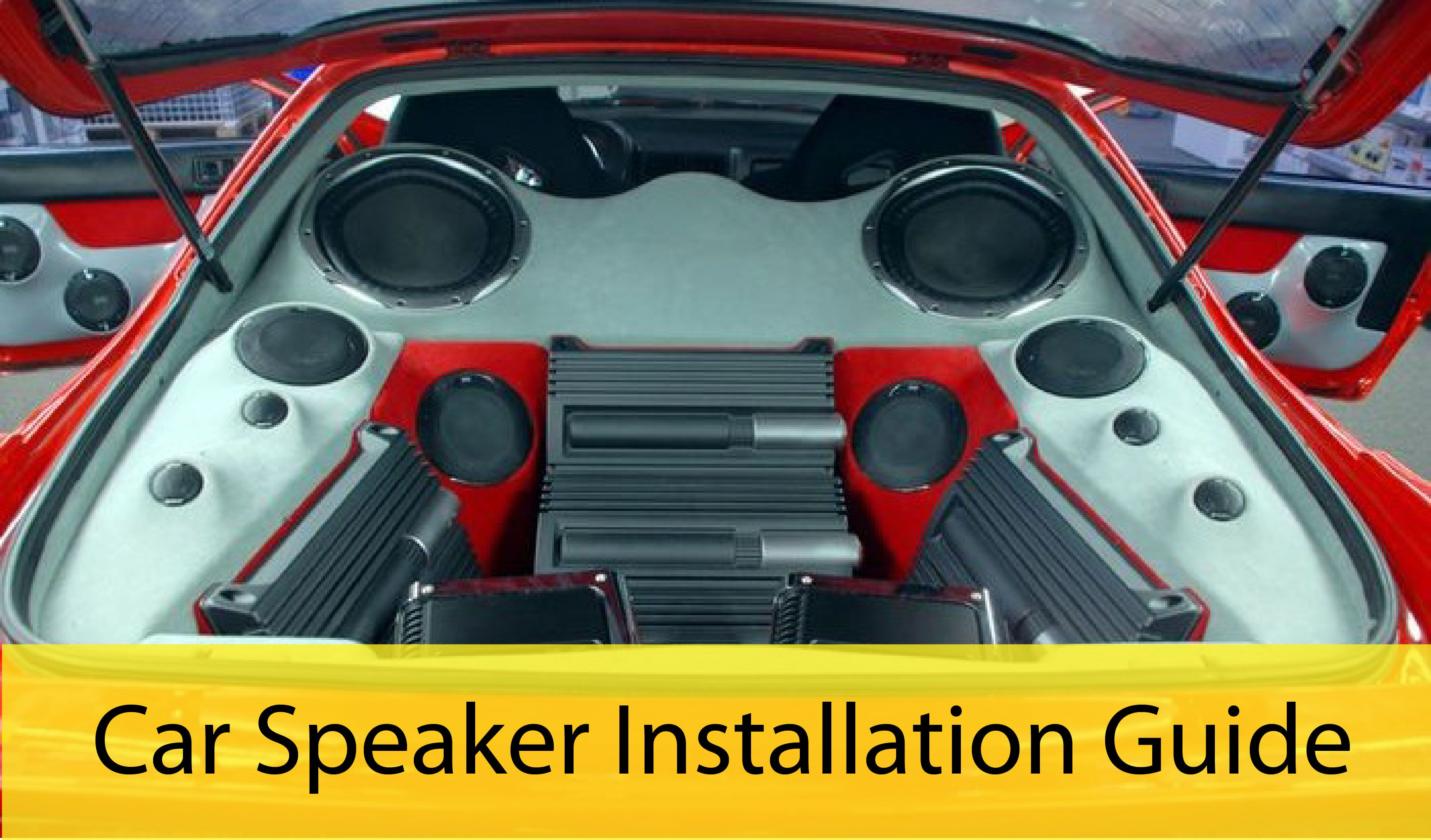 Pin By Nhi Levy On Auto Works Nj Pinterest Cars Car Speaker Installation