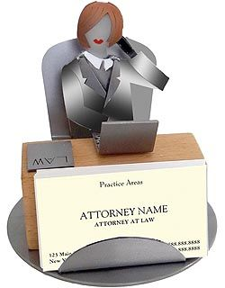Female Lawyer Business Card Holder 45