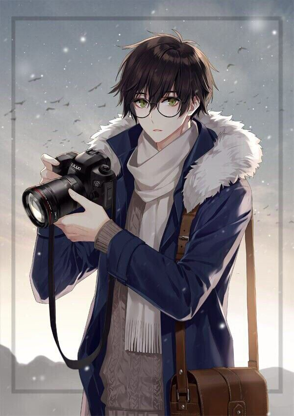 Hot anime guys with glasses