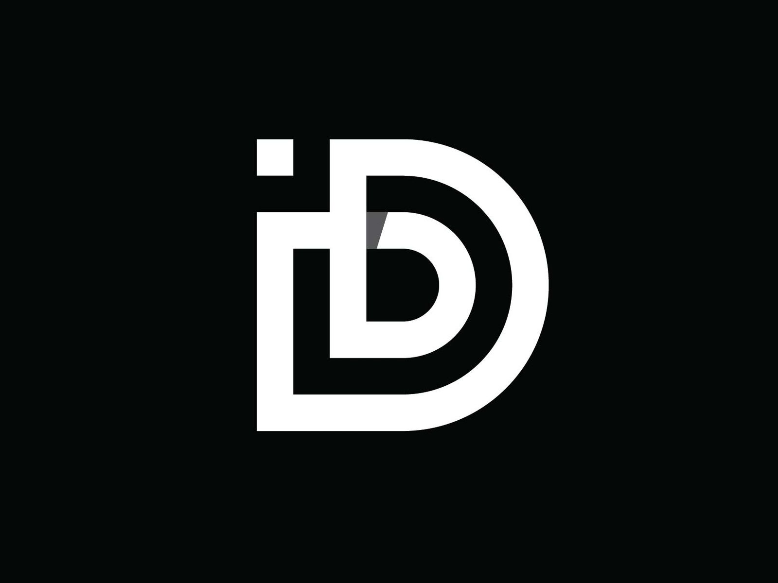 D Logo Concept Logo Concept Typographic Logo Design Initials Logo Design