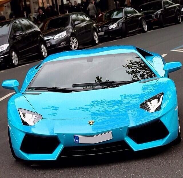 Sky Blue Lamborghini Sports Cars Luxury Cool Car Pictures Cool