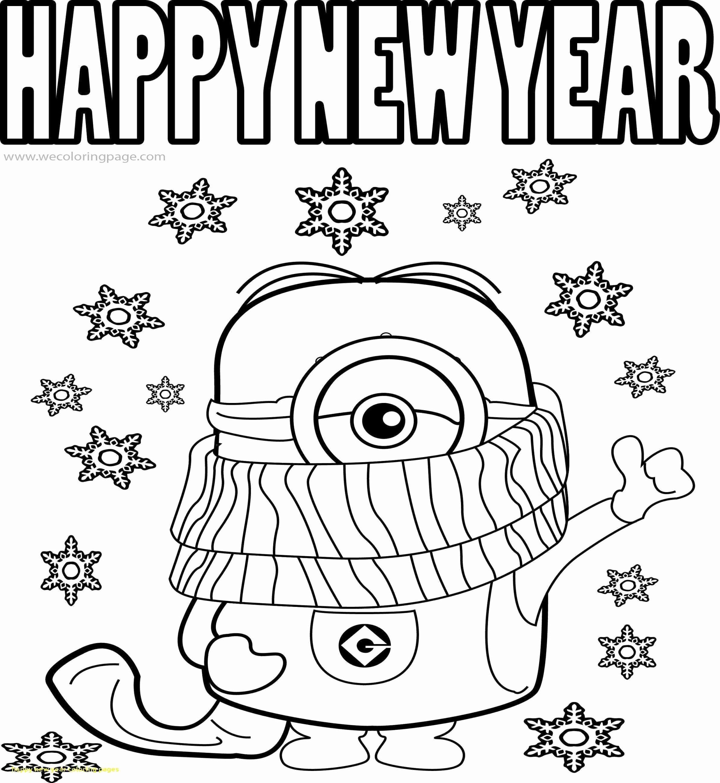 Happy New Year 2021 Coloring Pages New Year Coloring Pages Coloring Pages Cute Coloring Pages
