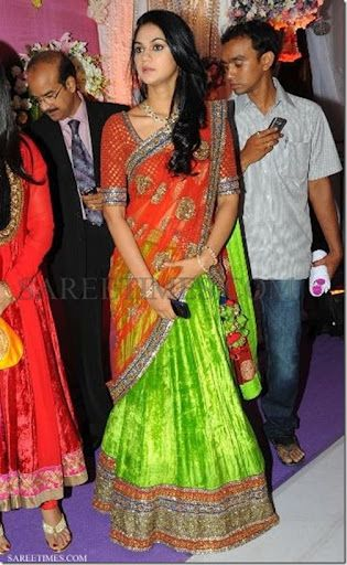 Sneha_Reddy_Sabyasachi_Lehenga. Garba? (With images ...