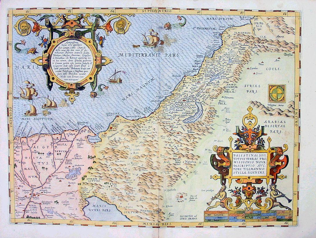 Holy Land 1572 Holy Land 1572