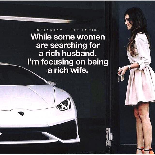 dating a rich man quotes