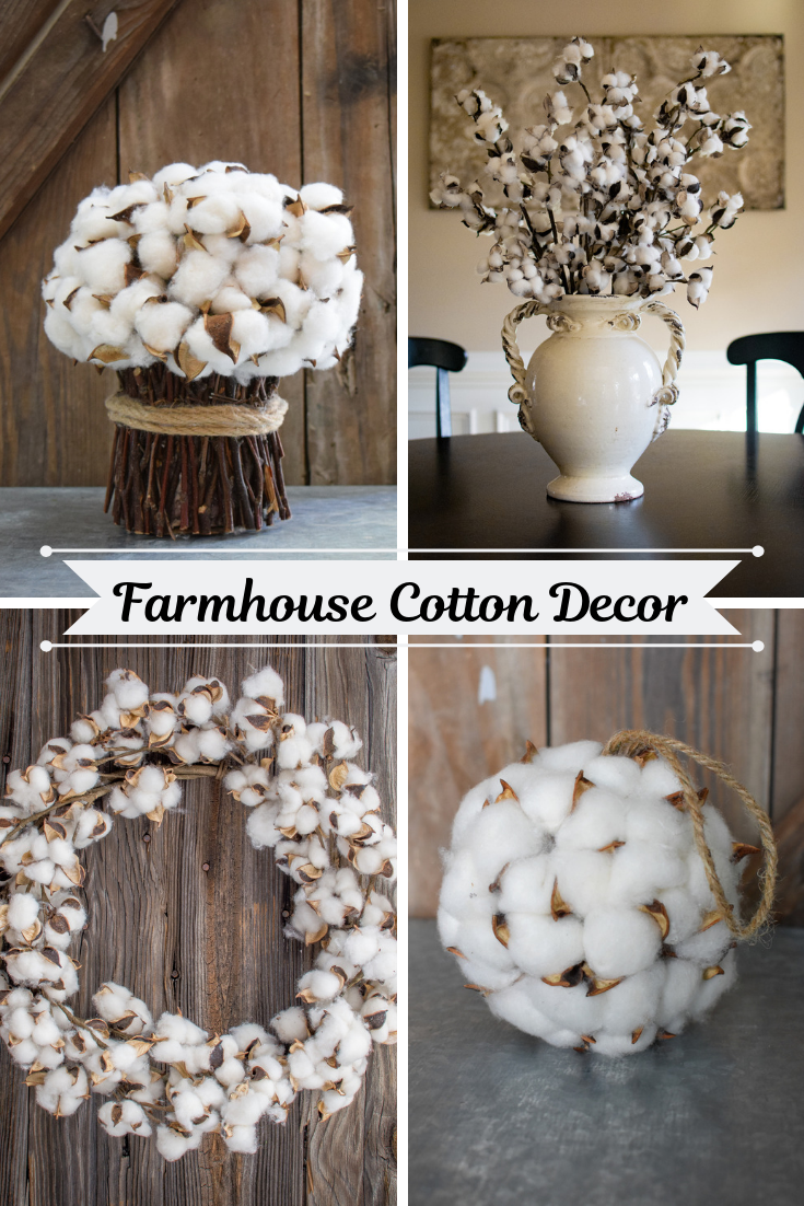 Cotton Collection Cotton Decor French Farmhouse Decor Special Events Decor