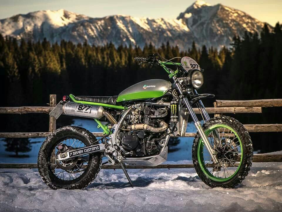 KLR 650 Custom Cool bikes, Bike shed, Honda dominator