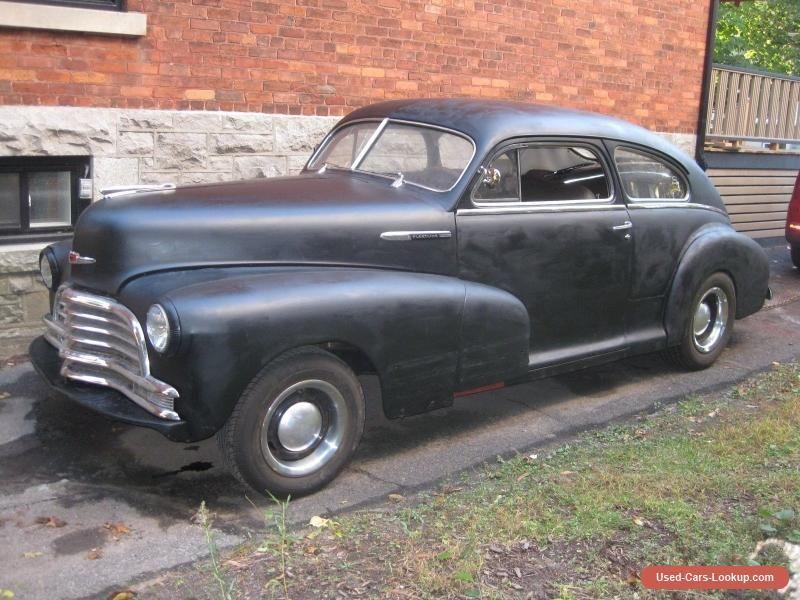 1947 Chevrolet Fleetline #chevrolet #fleetline #forsale #canada ...