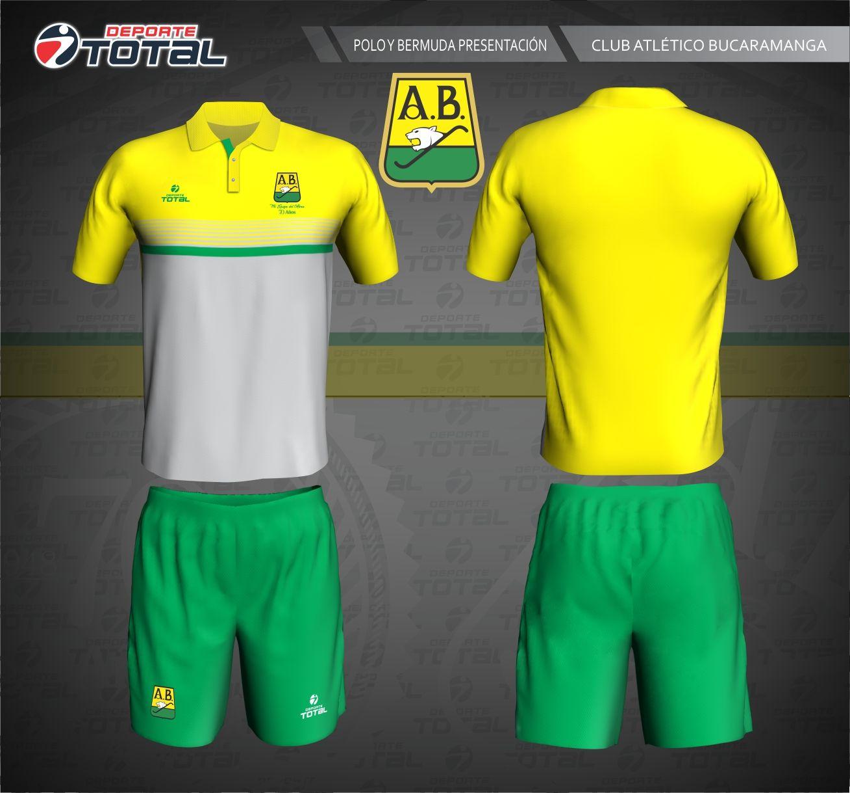 6be58ab42845a Polo y Bermuda - deporte total-atletico bucaramanga- 2018-camiseta-uniforme-