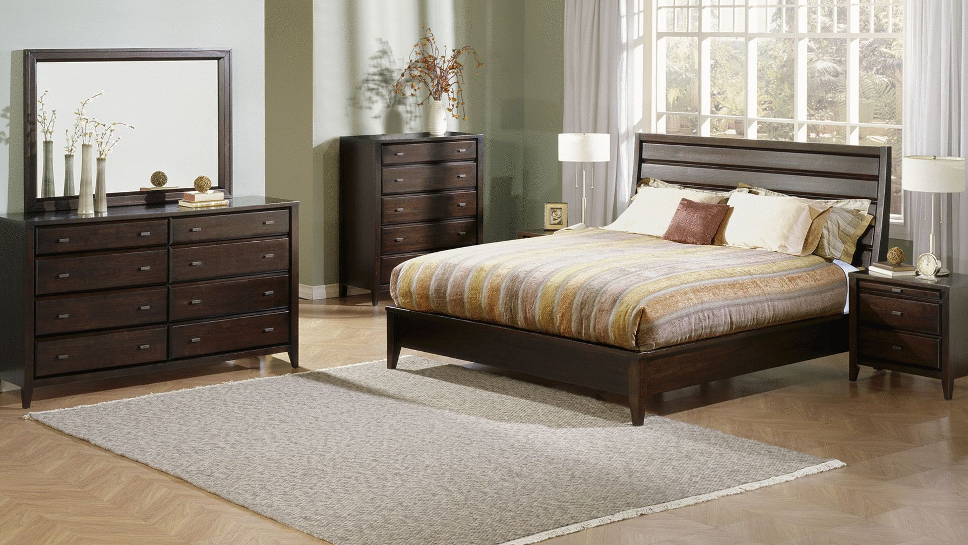 161 01 Roomshot Br Solid Wood Bedroom Furniture
