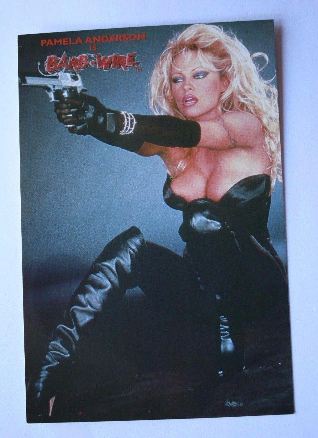 PAMELA ANDERSON Barb Wire Original 1990`s Collectable Postcard ...