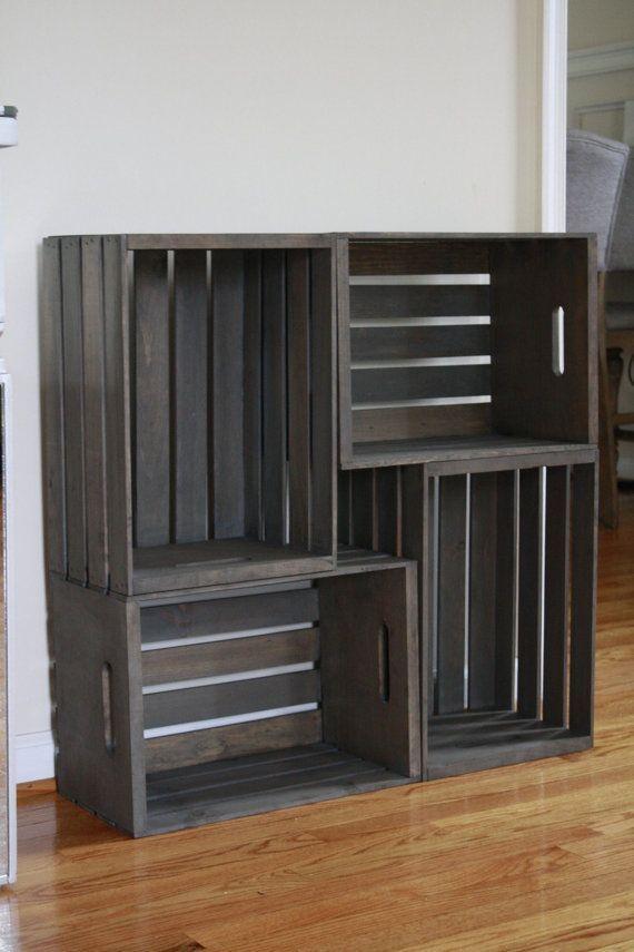 Photo of Aufbewahrungsbox für Holzkisten – Artikel – #Crate #storage #wooden # я .ики – Holzkiste …