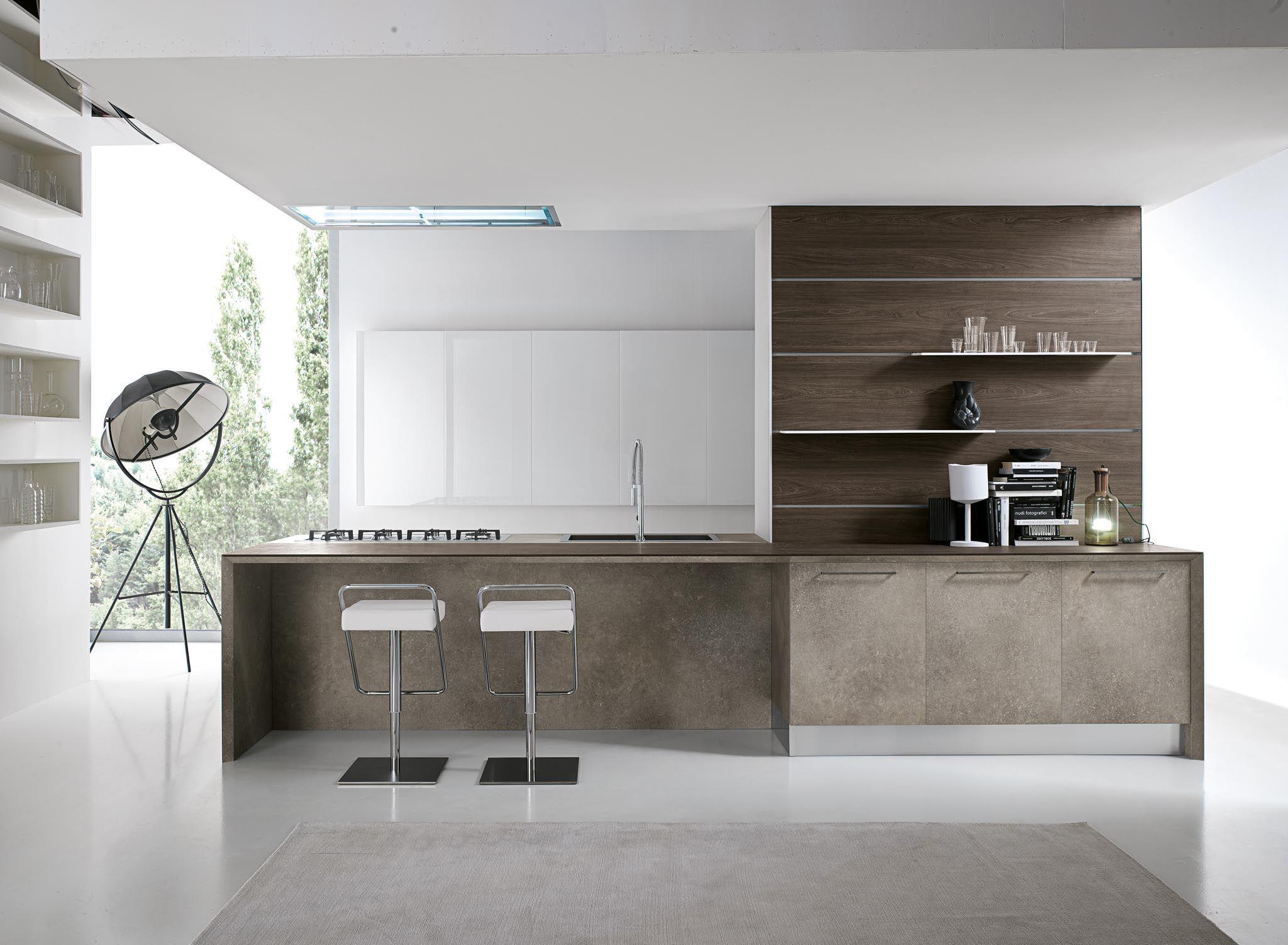 Atelier   Italian kitchen design, Modern kitchen cabinets, Italian ...