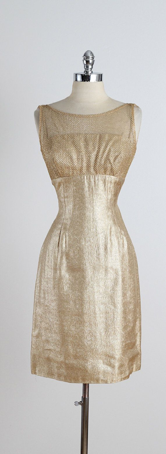 Golden Days Vintage 1950s Dress Vintage Party Dress Etsy Vintage 1950s Dresses Vintage Party Dresses Vintage Dresses [ 1555 x 570 Pixel ]