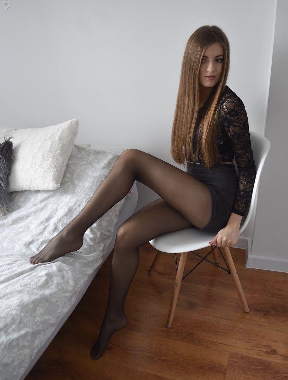 Asian Insert Heels Porn pin on hose & stockings