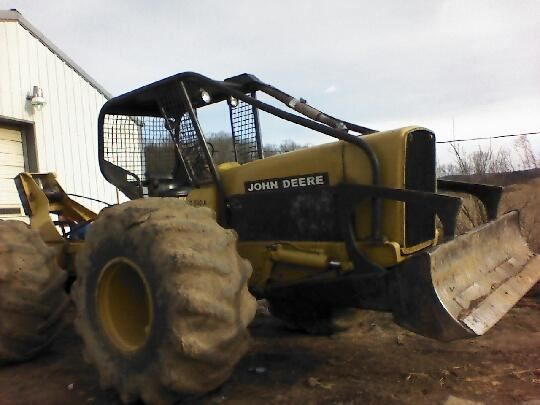 1977 John Deere 540A Skidder | Skidders for Sale | Logging
