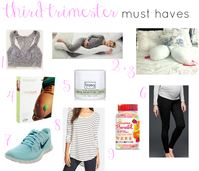 e9f9a3acb0 THIRD TRIMESTER MUST HAVES | Best Mom Blogs | Pinterest | Third ...