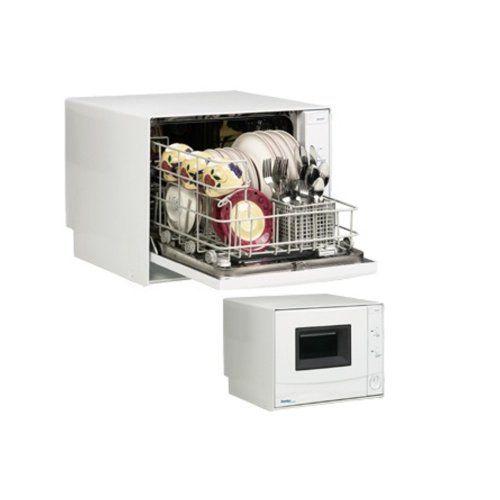 Danby Ddw396w Countertop Dishwasher 4 Place Setting Capacity