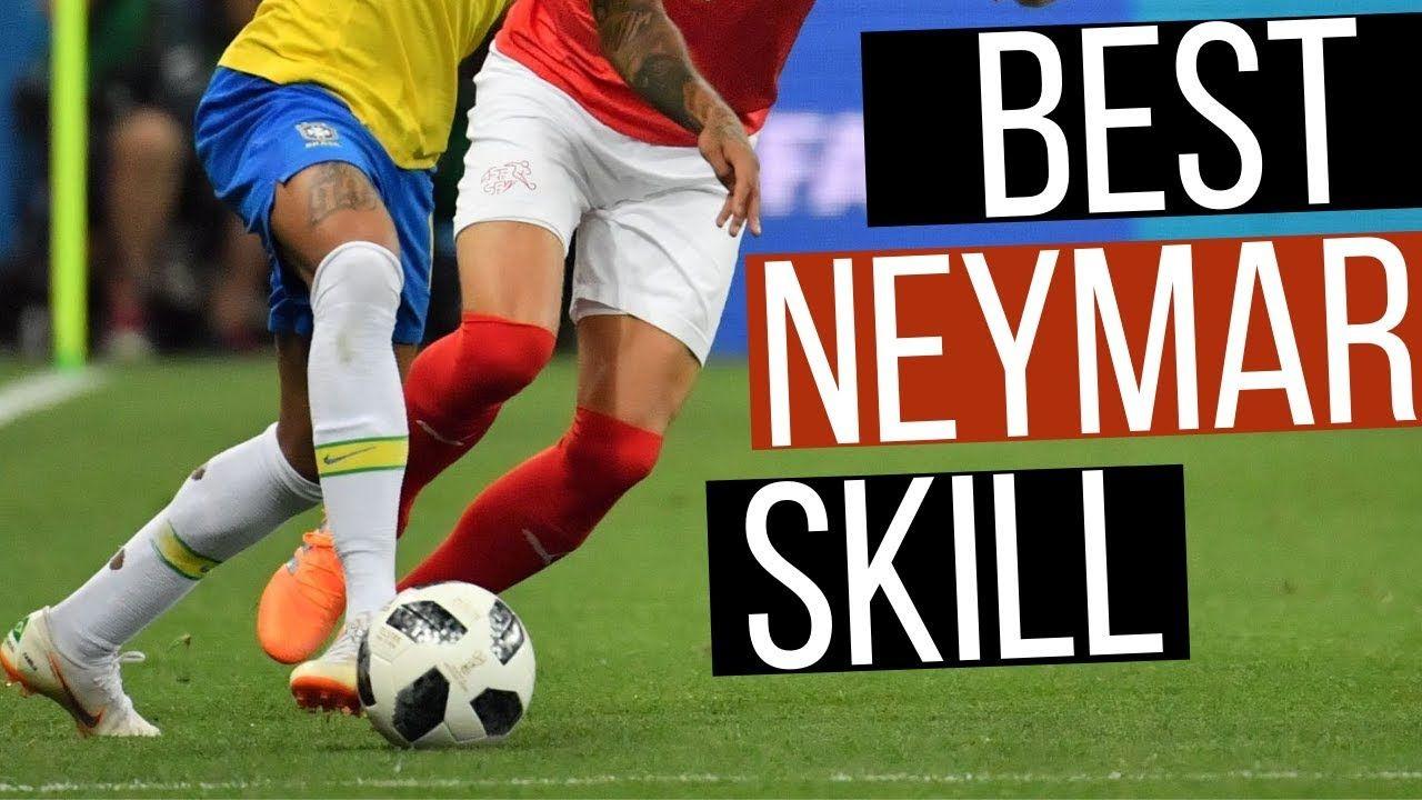 Best Neymar Skill Move To Beat A Defender Neymar Soccer Drills For Kids Soccer Skills
