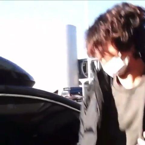 Long-haired Jungkook ???? #jungkooklonghair Back to Korea: 2019/09/24 #bts #jungkook #jungkooklonghair