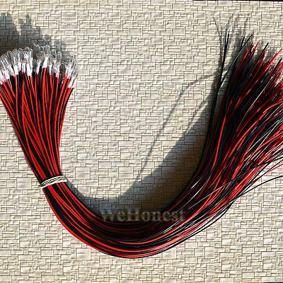 Details About 30 Pcs Clear Pre Wired 30cm Wires Grain Of Wheat Bulbs 3mm 12v 70ma Mini Bulbs