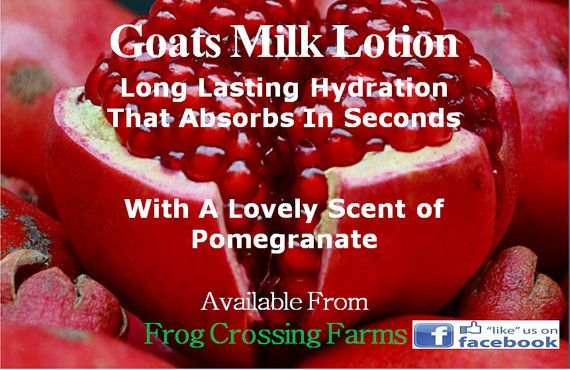 Goats Milk Lotion by FrogCrossingFarm on Etsy, $4.50        If you try it you will LIKE it <3