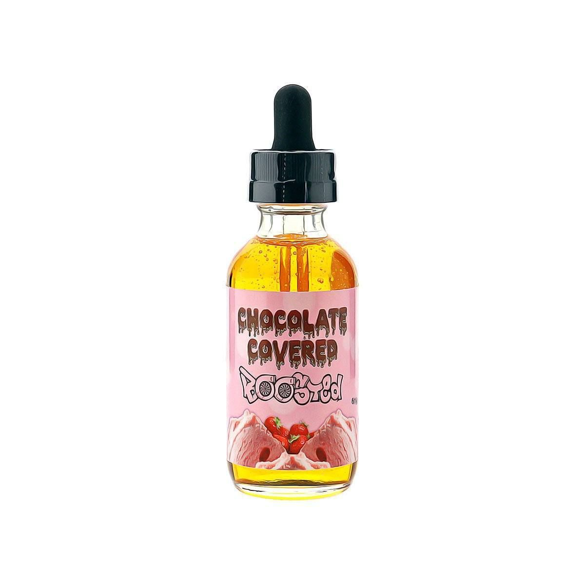 Chocolate covered boosted vape juice by boosted