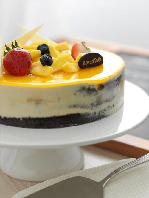 breadtalk mango mousse cake feestje Pinterest Mango mousse