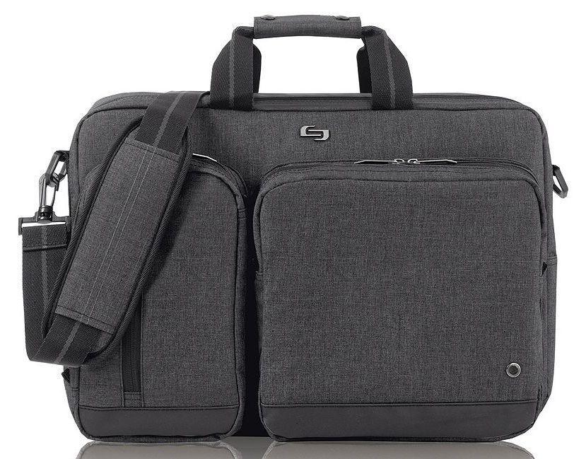 2 in 1 Laptop Briefcase Backpack Messenger Shoulder Bag Case  ebe61e561646f