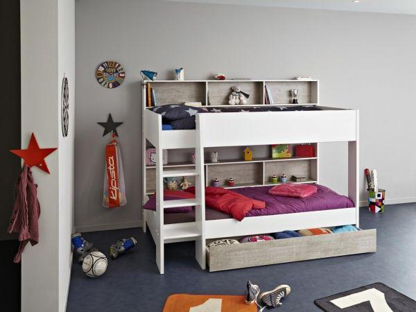 Etagenbetten Kinder : Das weiße etagenbett jason. pinterest