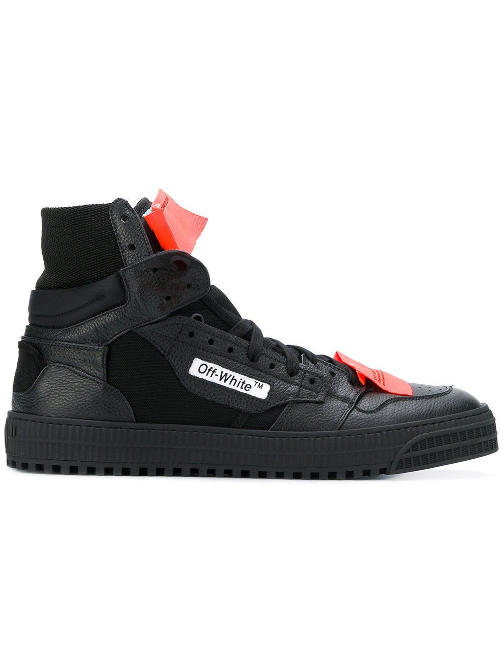 bd846449130b Off-White Black Low 3.0 Sneakers - 40